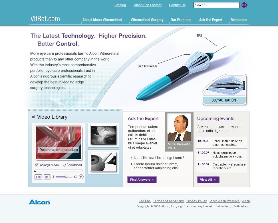Alcon VitRet