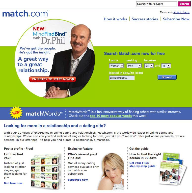Match com browse