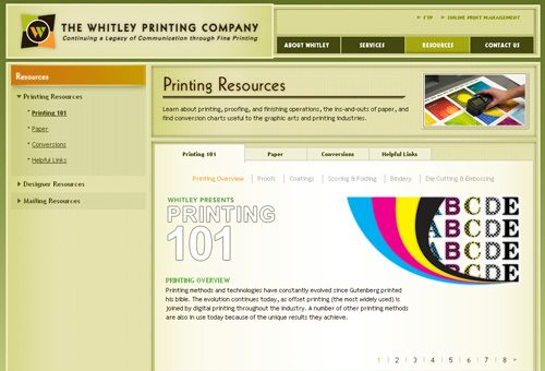 Whitley Printing Company