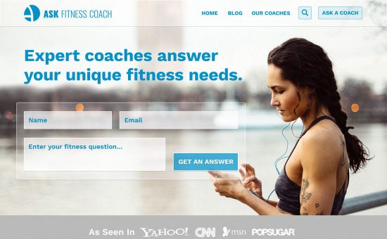 Ask Fitness Coach