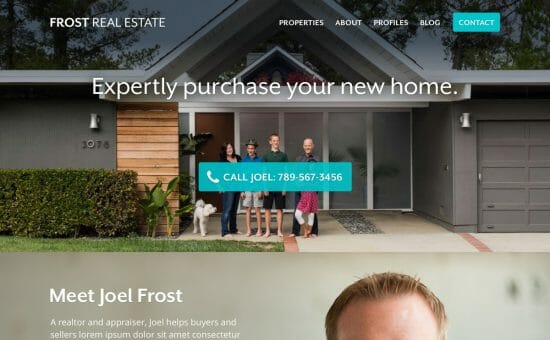 Frost Real Estate Home Page