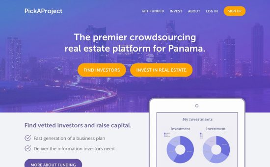 PickAProject Home Page