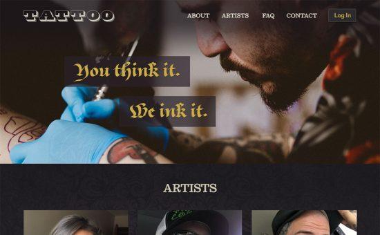 Tattoo Home Page